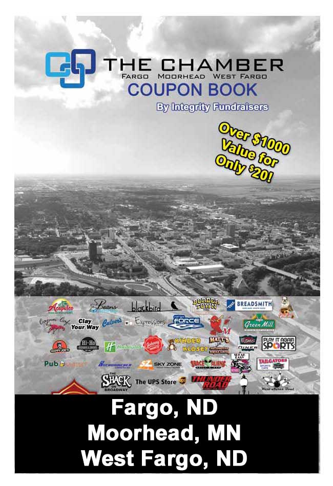 Fargo ND, Moorhead MN Coupon Book
