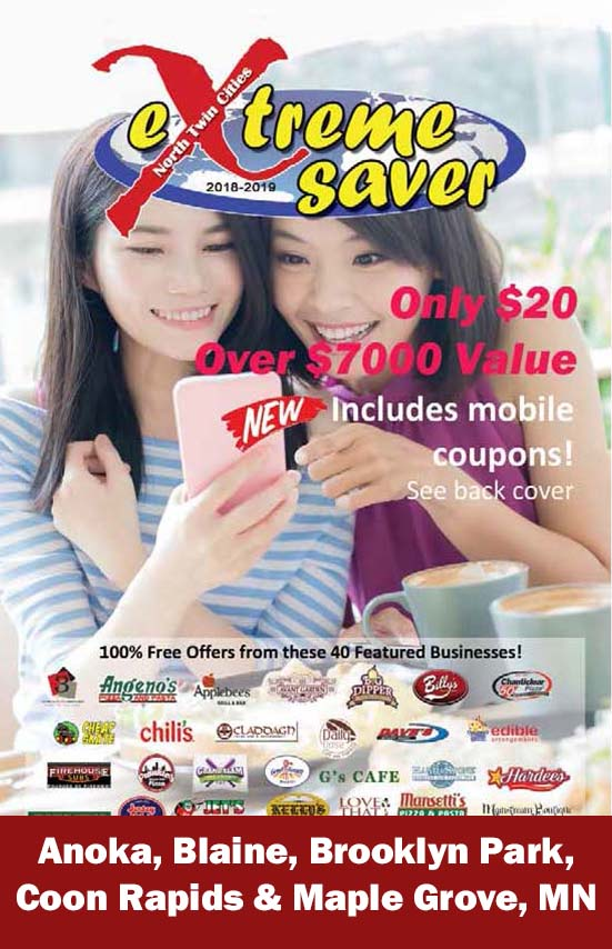 North Twin Cities, MN Coupon Book