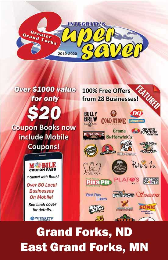 Grand Forks ND,  Spring Edition Coupon Book