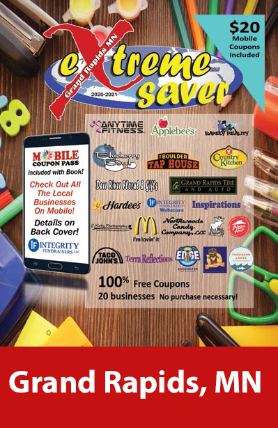 Grand Rapids, MN Coupon Book
