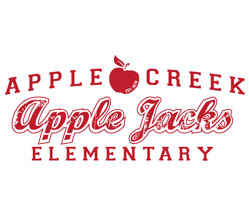Apple Creek Apple Jack Elementary School Logo